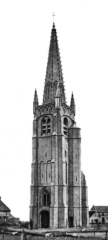 oude kerktoren c